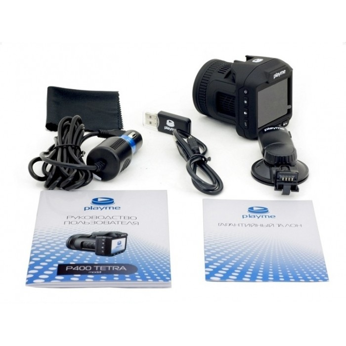 «Автомобильные радар-детекторы - 10 лучших моделей» фото - PlaymeP400 TETRA