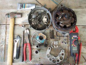 Инструменты для ремонта генератора