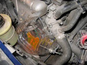 Замена термостата рено логан