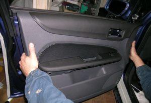 Передняя дверь форд фокус