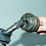 Как провести замену наружного шруса в автомобиле?