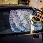 Полировка стекол на автомобиле — средства и технология